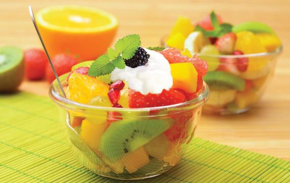 Cómo variar las ensaladas de fruta?