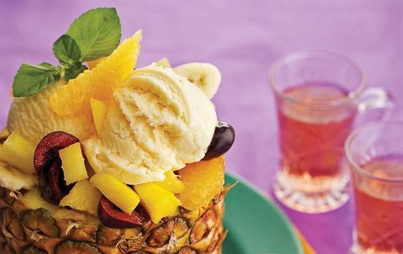 Frutas en ananá