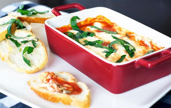 Cazuela de pollo a la parmesana