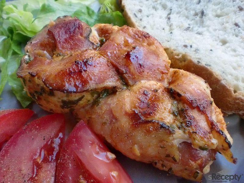 Trenzas de pollo a la parilla