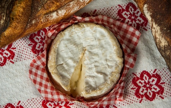 Camembert a la parrilla