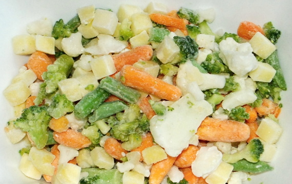 Mix de vegetables congelados
