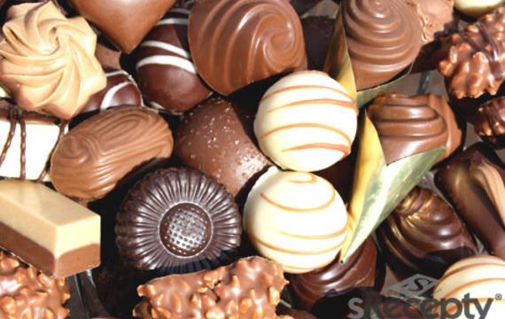 Bombones de chocolate