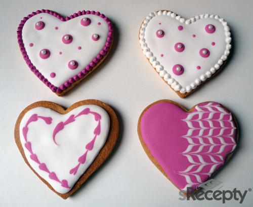 Corazones Cookies