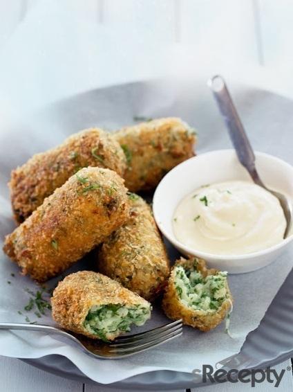 Croquetas de coliflor, queso y patatas