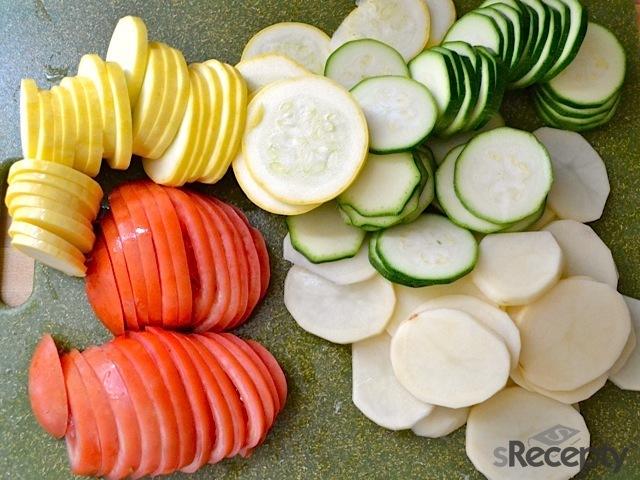 Tian de vegetales