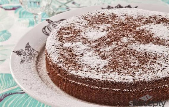 Torta de cacao y yogurt