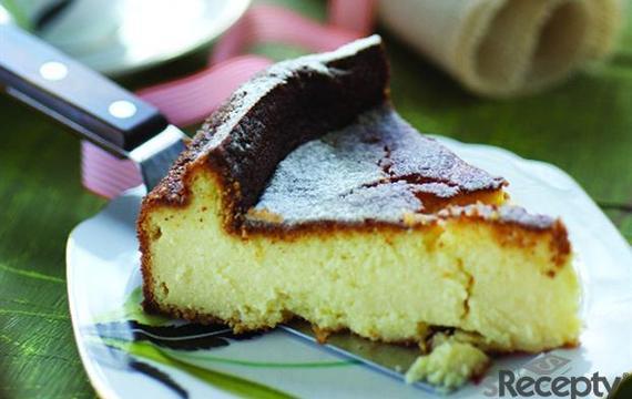 Torta soufflé de ricota y limón