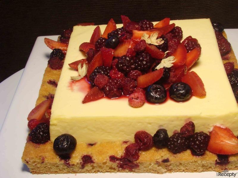 Torta bavarois