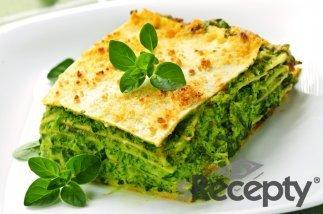 Lasagna con espinaca