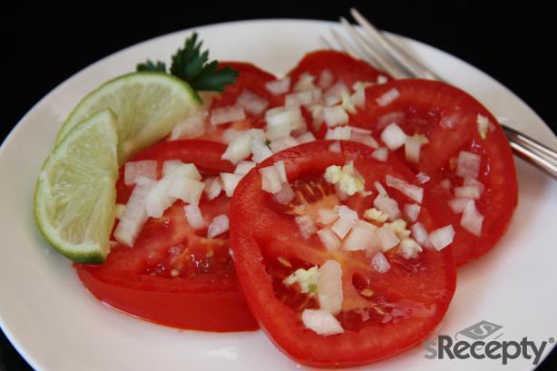 Ensalada fácil de tomate