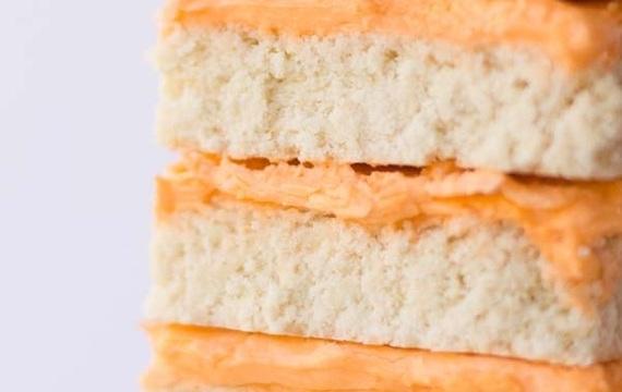 Barras de galletitas de azúcar