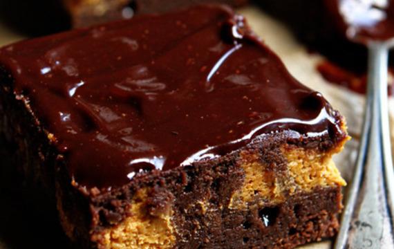 Brownies de calabaza
